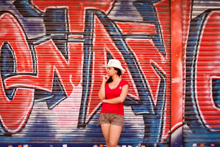 Toronto Photographer : graffiti in Malaga, Spain