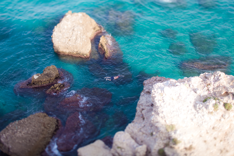 Toronto Photographer : Nerja, Spain : snorkelling