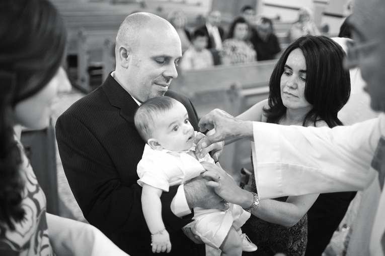 Baptism Photographer in Toronto : getting Baptised
