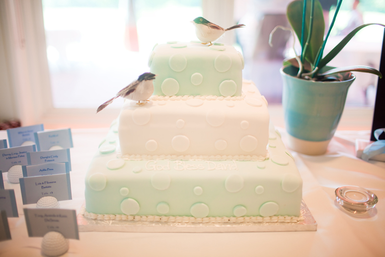 Baptism photos : cake