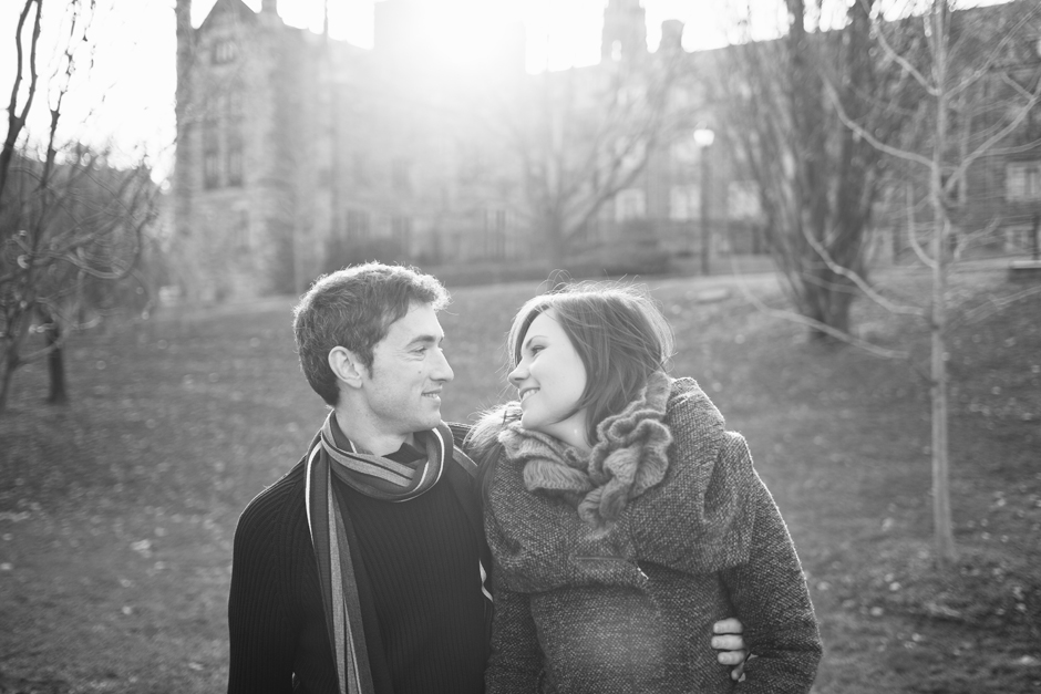 Toronto Engagement Photographer : beautiful photography of the couple in love
