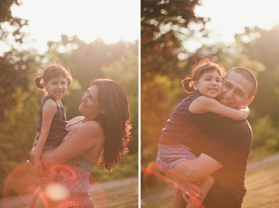 Sunny High Park Toronto family photographer