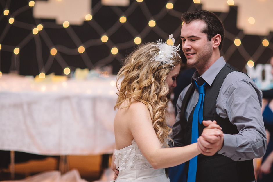 Groom dancing with Bride - Toronto Wedding Photography