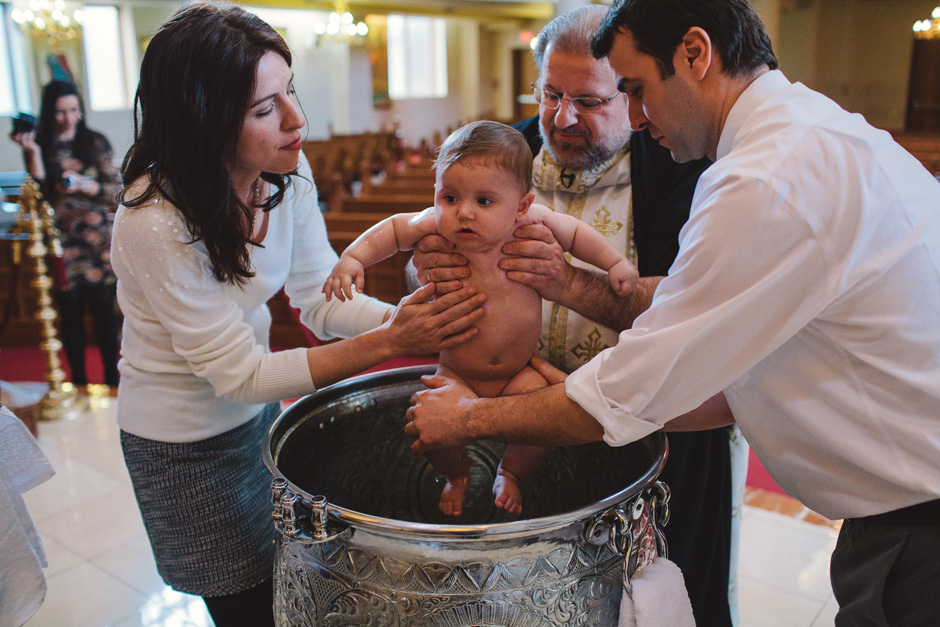 Panagia Greek Orthodox Baptism Photographers