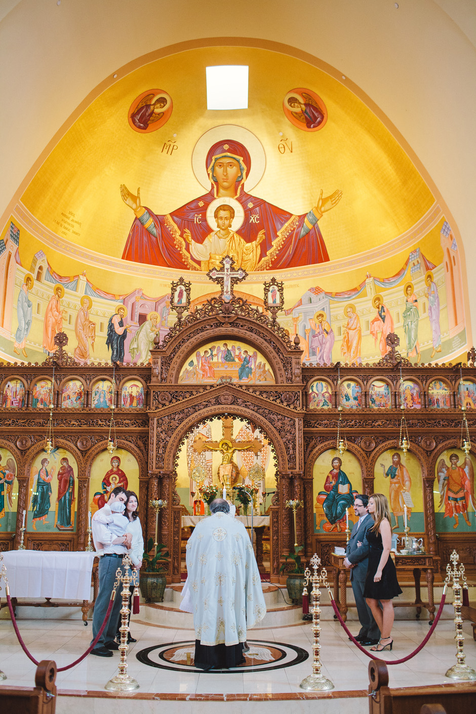 Panagia Greek Orthodox Cathedral in Toronto