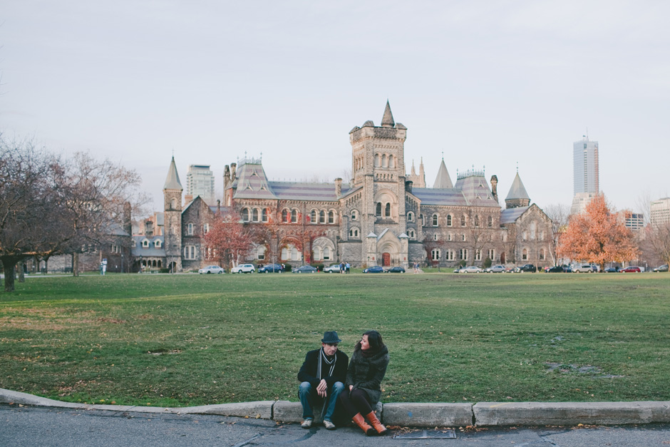 Engagement Photographers in Toronto at U of T