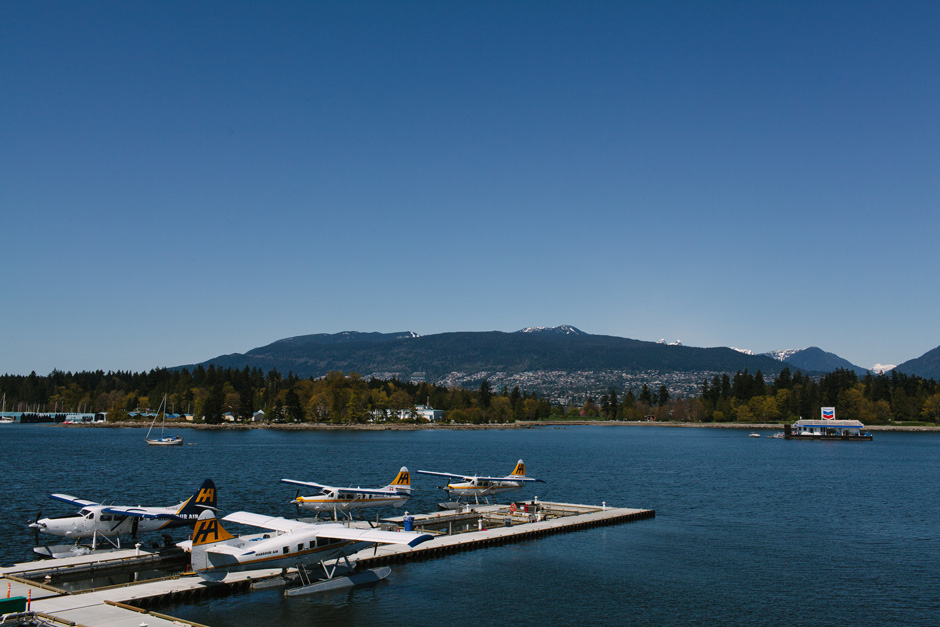 Seaplanes in Coal Harbour