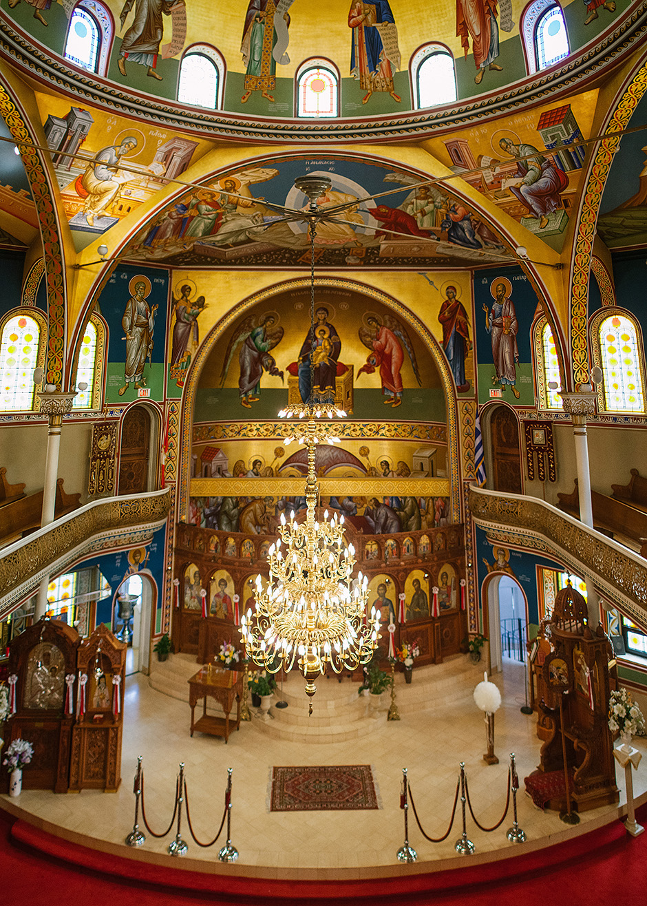 Toronto Baptism Photography at St George's Greek Orthodox ...