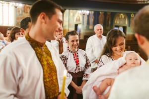 Photojournalistic Toronto Baptism photography