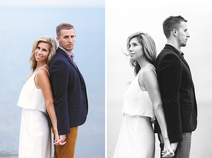 Toronto Wedding photographer shooting engagement session