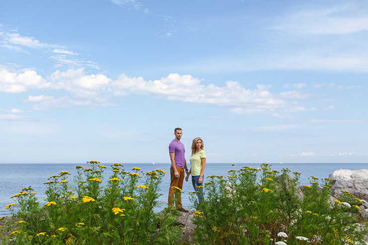 Toronto Engagement Photographer by Lake Ontario