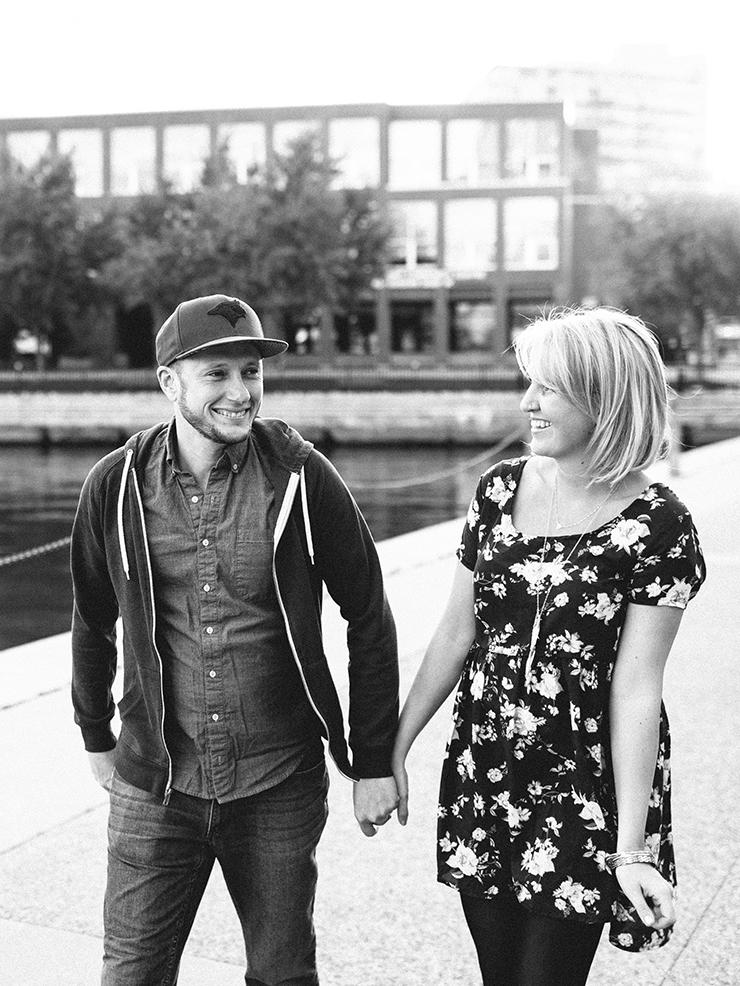 Engagement photo Toronto