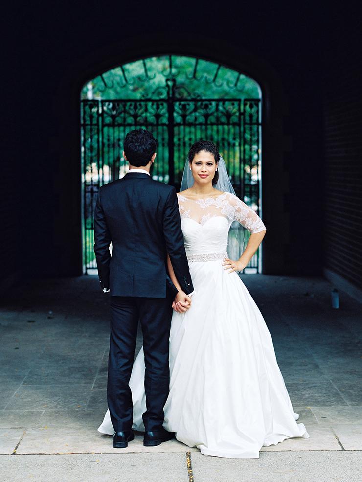 Film wedding photographer in Toronto