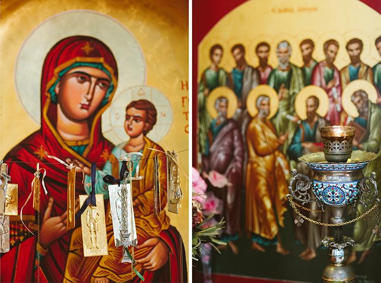St. Constantine & Helen Greek Orthodox Church baptism photography