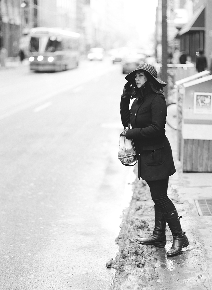 Portrait photographer in Toronto Indie Film Lab