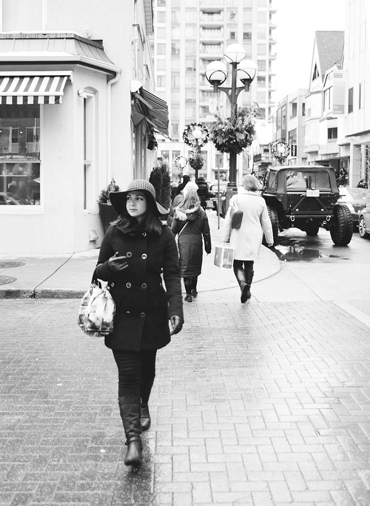 Black and white portrait Toronto photographer