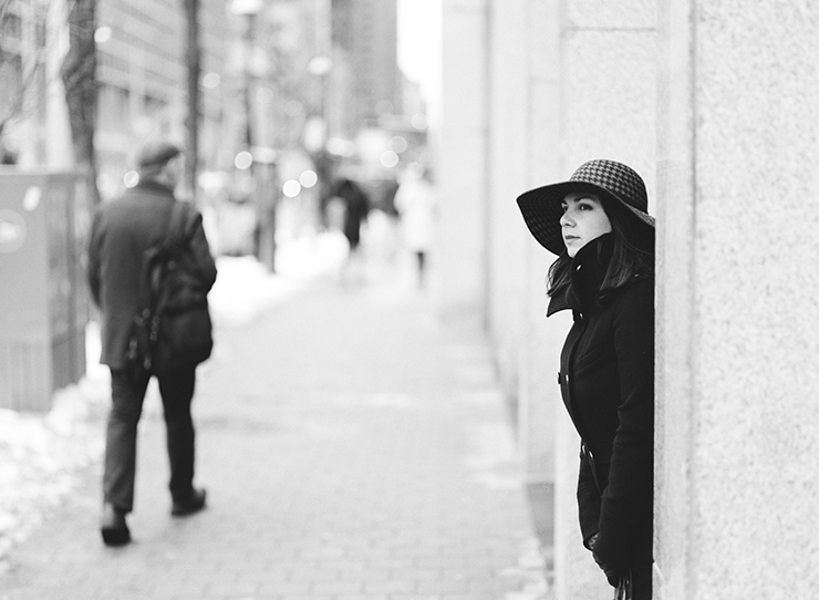 Portrait photography in Toronto Fuji Acros 100 film