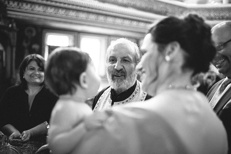 Toronto Baptism photography at St. George's Greek Orthodox Church of Toronto