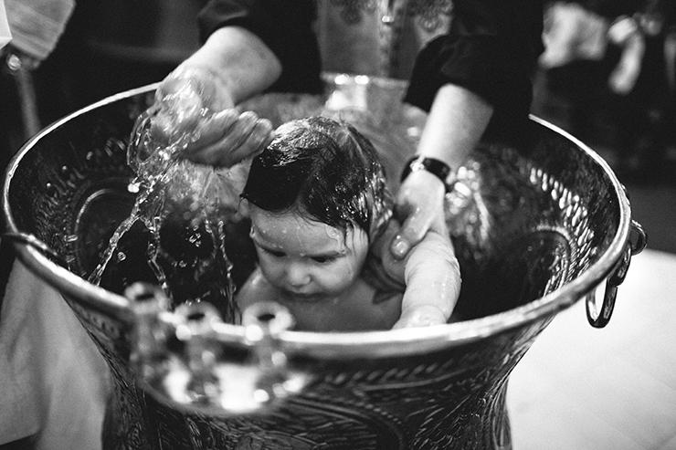 Baptism photographer at St. George's Greek Orthodox Church of Toronto