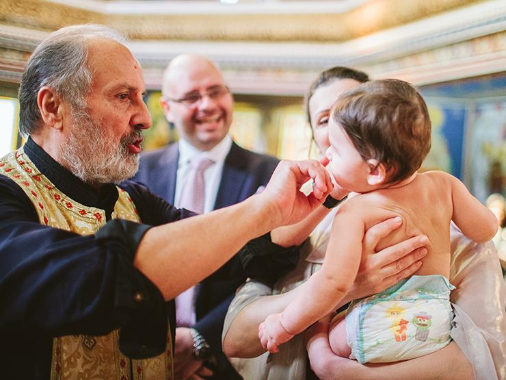 Baptism Photography at St. George Greek Orthodox Church of Toronto