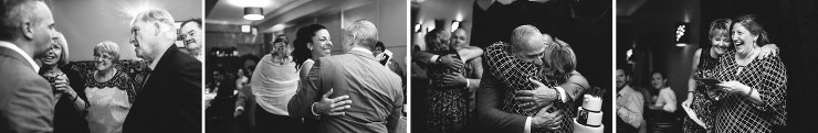 Toronto Documentary photographer at wedding dinner