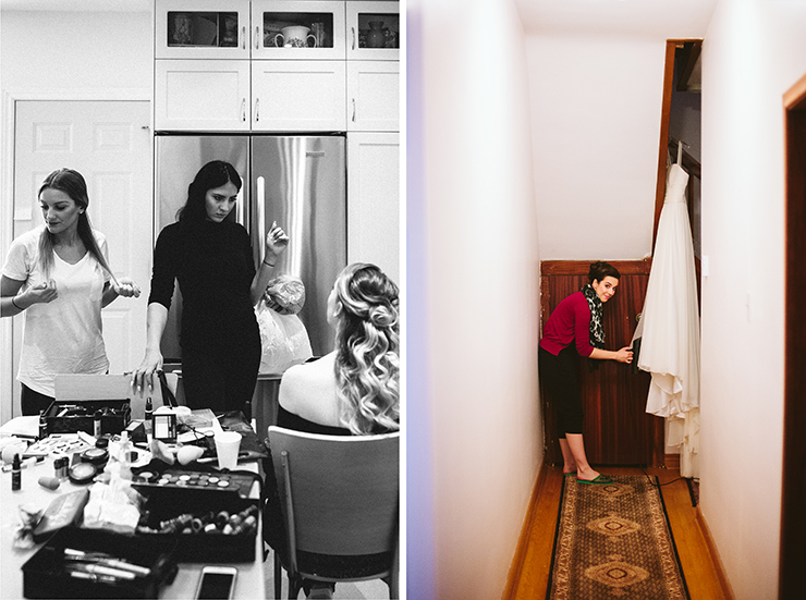 Toronto Getting Ready wedding photographers