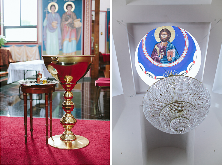 Macedonian Orthodox Church in Toronto Baptism photography