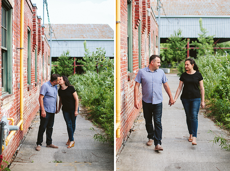 Toronto Evergreen Brickworks Couples Photographer