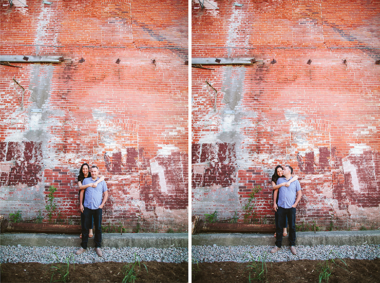 Toronto Couples Brickworks photography