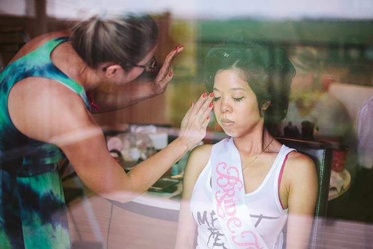 1 Toronto Bride Getting ready wedding photography