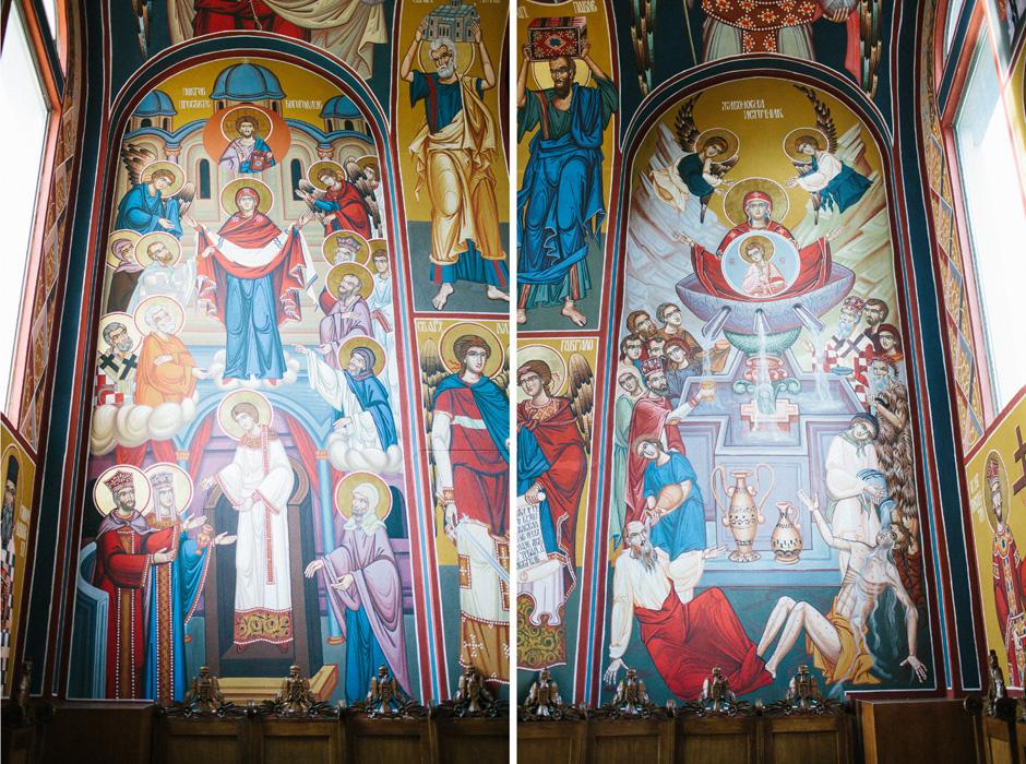 I shot a Baptism for Nila at St  Sava Serbian Orthodox