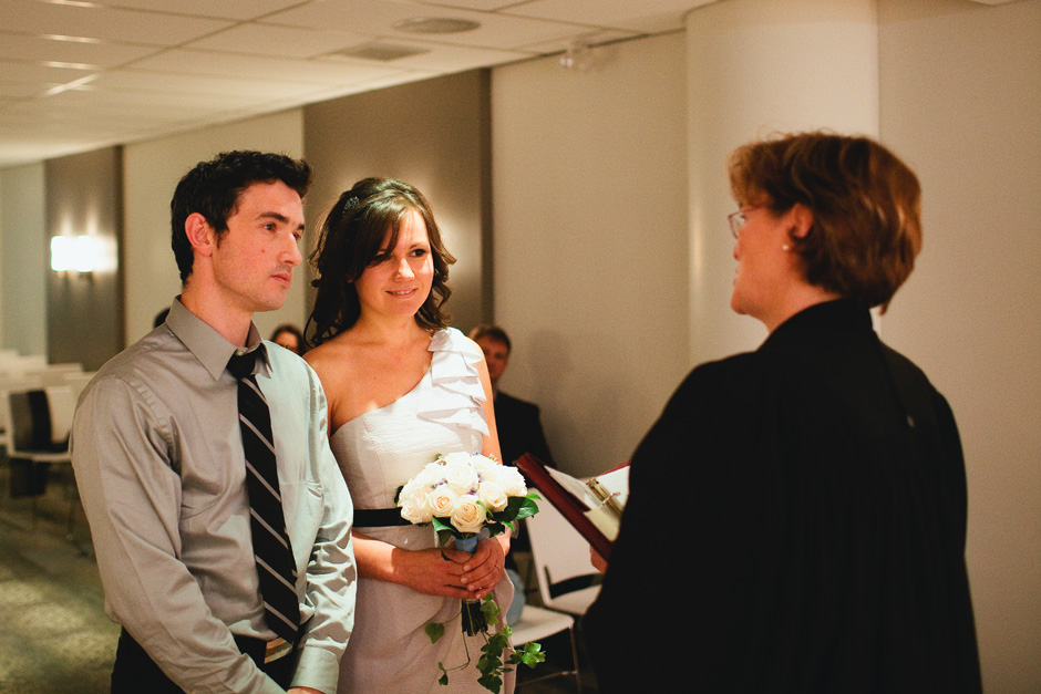 Civil Wedding Toronto Photographer Mel Lastman Square