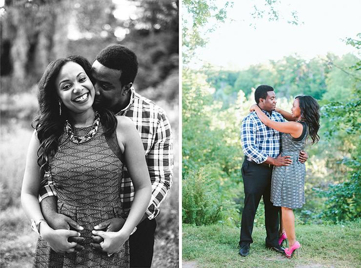 Toronto Engagement photographer at Edwards Gardens