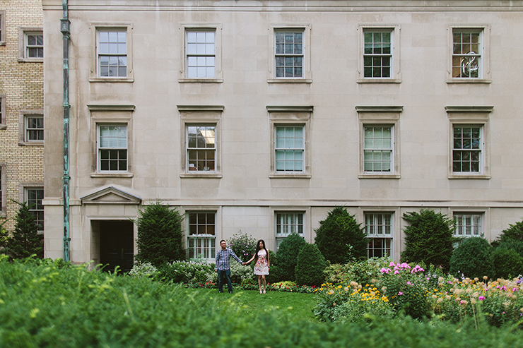 Osgoode Hall Engagement photography in Toronto