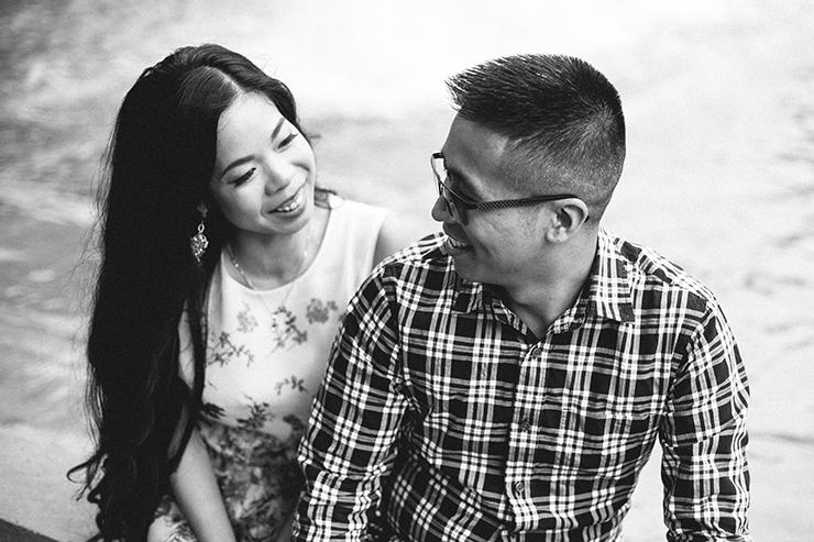 Engagement photos in Toronto