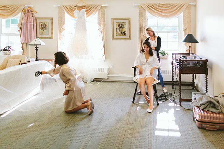 Bride Getting Ready Toronto Wedding Photographer